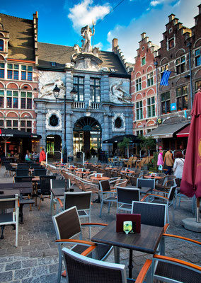Ghent old city centre copyright Botond Horvath