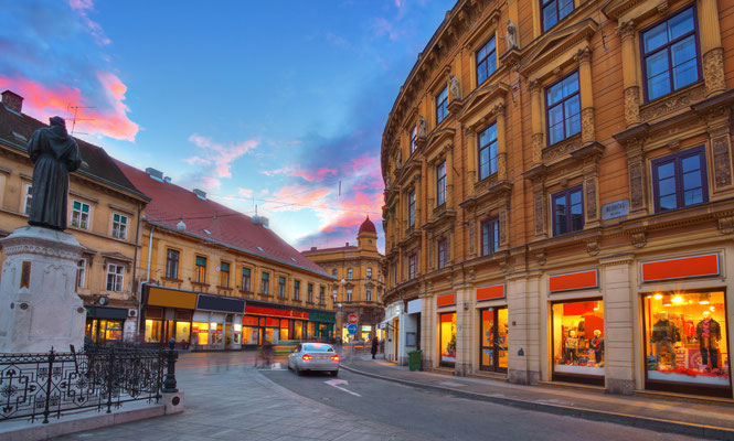 Zagreb European Best Destinations - Copyright Phant