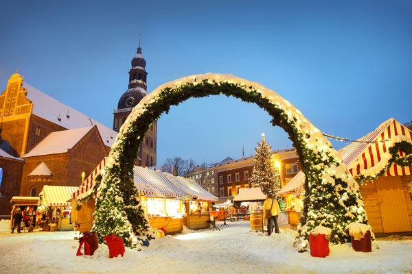 Christmas market in Riga, Latvia Copyright Lisa A