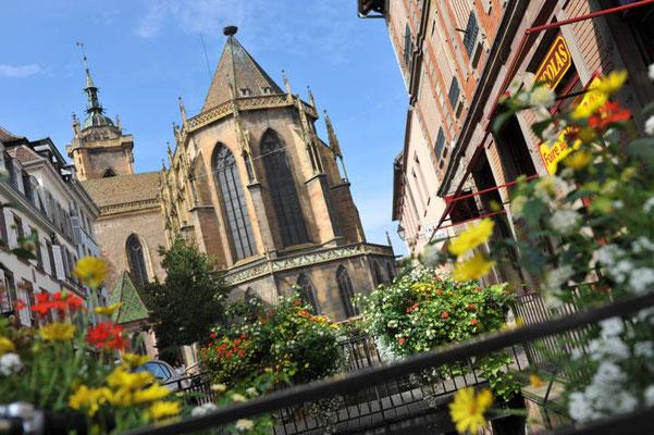 Colmar - Rue de l'Eglise - Copyright Colmar Tourisme