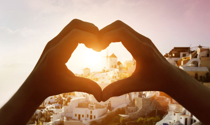 Love in Santorini Copyright  Mikael Damkier- Santorini European Best Destinations