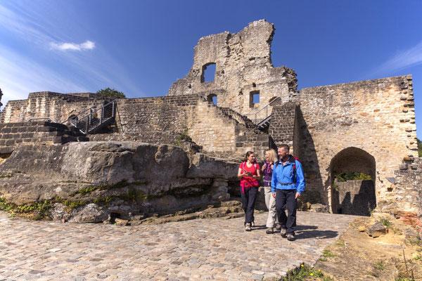 Mullerthal - European Best Destinations - Larochette castle © ORT MPSL - Thomas Bichler