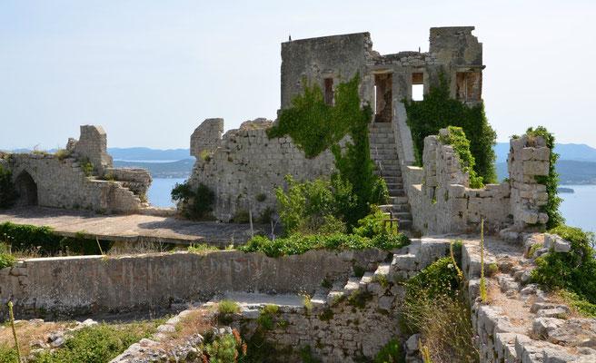 Tvrdava Mihovil Fortress Ugljan - Copyright European Best Destinations