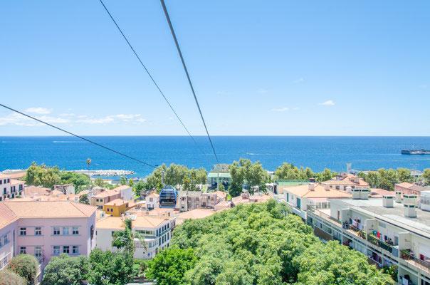 Funchal cable car, Madeira Islands, Portugal Ⓒ Matthieu Cadiou / European Best Destinations