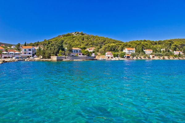 Island of Ugljan turquoise coast, Dalmatia, Croatia - Copyright xbrchx
