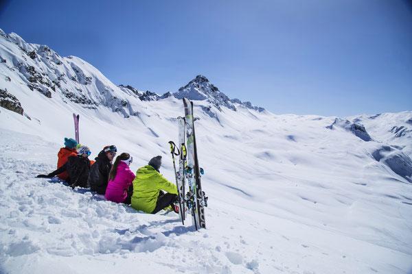 Les Contamines-Montjoie Ski Resort, French Alps ©alexiaburille