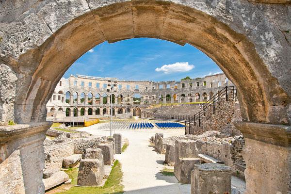 Roman amphitheatre of Pula, Croatia - Copyright Aleksandar Todorovic
