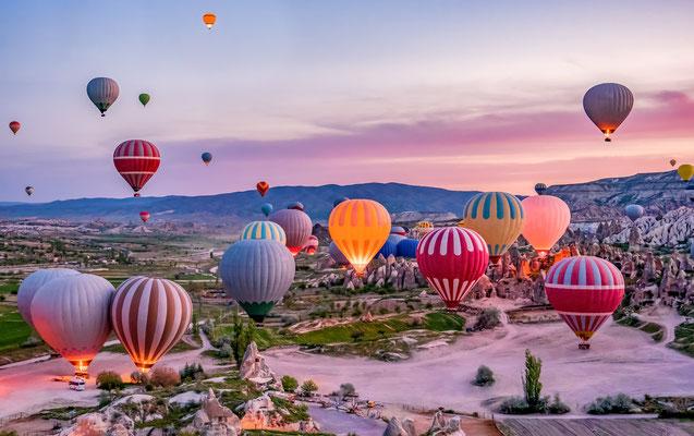 Cappadocia hot air Balloon copyright MarBom