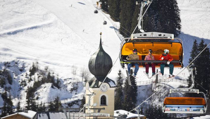 Saalbach Ski resort - Copyright MirjaGEh