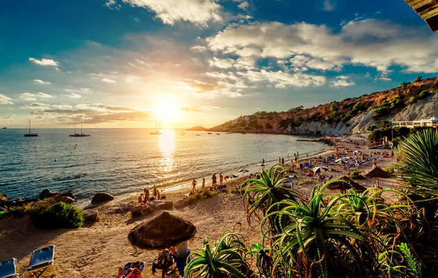 Ibiza - European Best Destinations - Cala d'Hort Beach in Ibiza - Copyright Alex Tihonovs
