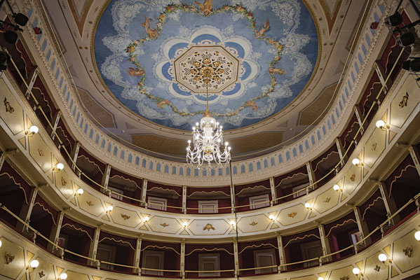 Carlo_Goldoni Theatre in Corinaldo Photo_by_Franco_Giovannini Corinaldo - European Best Destinations - Sustainable tourism in Europe