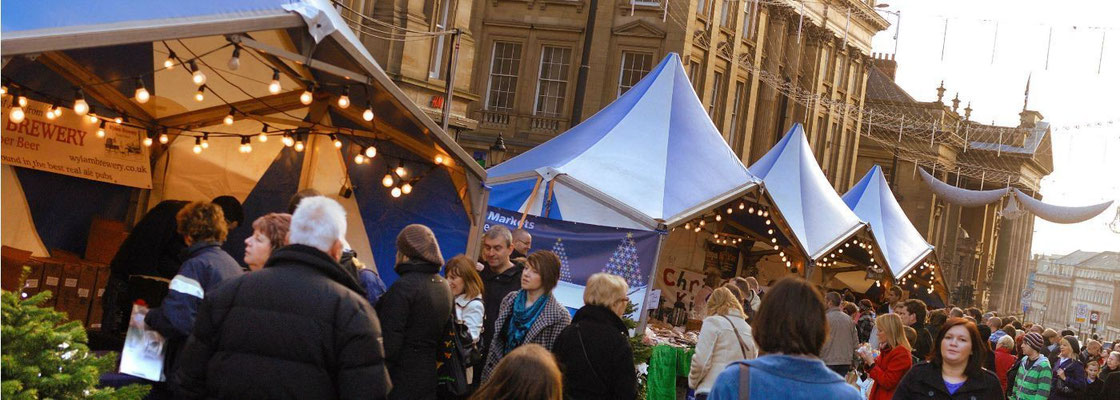 Newcastle Christmas Market - Copyright newcastlegateshead.com