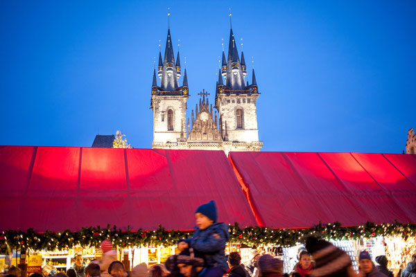 Prague Christmas Market - Copyright Prague.eu