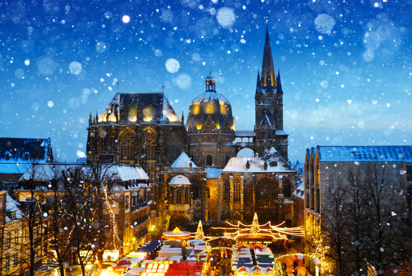 Aachen Christmas Market - By Dan Race
