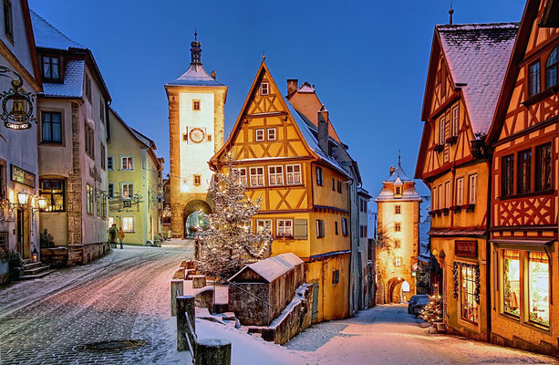 Rothenburg op der Tauber Christmas Market - Copyright Rothenburg Tourismus Service