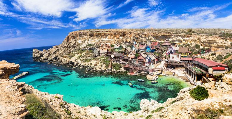 famous Popeye village in Malta Copyright leoks