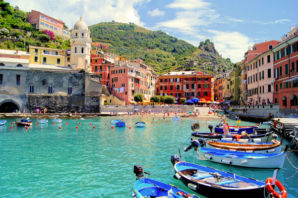 Cinque Terre - European Best Destinations - Vernazza village in Cinque Terre Copyright iryna1