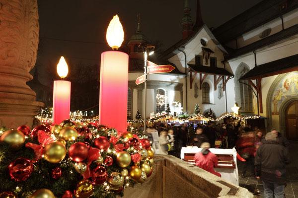 Christmas Market Lucerne - Copyright Luzern.com