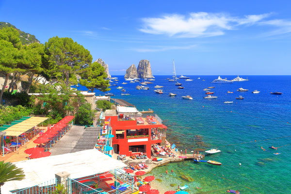 Capri - European Best Destinations - Marina Piccola in Capri Copyright Inu