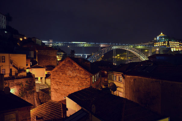 View of Ribeira at night, Porto, Portugal © European Best Destinations