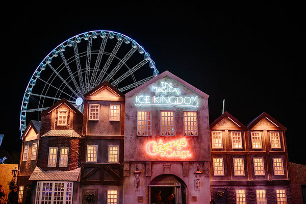Best Christmas Markets in the Uk - Hyde Park WinterWonderland - Copyright Giles Smith