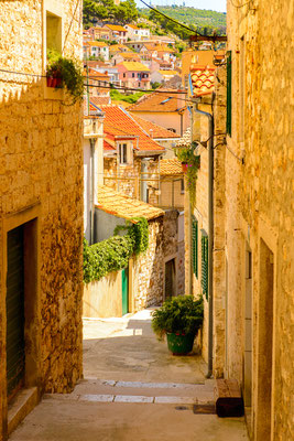 House of the Old Town of Sibenik, Croatia by Anton_Ivanov