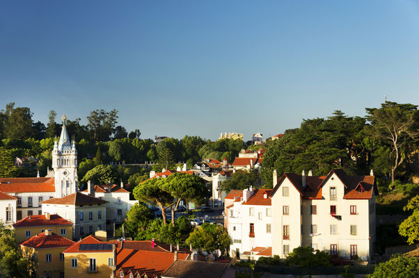 Sintra village near Lisbon, Portugal - Copyright Mikadun