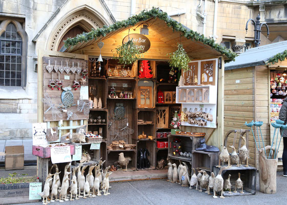 Best Christmas Markets in the United Kingdom - Oxford Christmas Market - Copyright Visit Oxford and OxfordShire