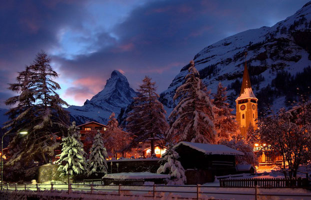 Zermatt - European Best Ski Resorts - European Best Destinations Copyright Leander Wenger