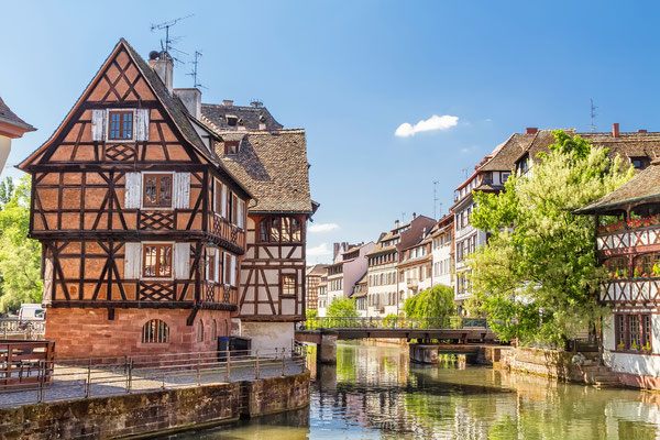 House tanners, Petite France district. Strasbourg, France Copyright g215