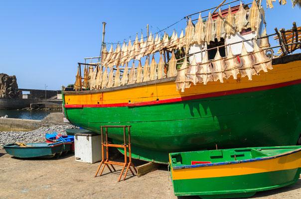 Fishing boat  in Camara de Lobos, Madeira, Portugal - Copyright Pawel Kazmierczak
