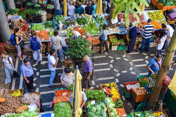 Mercado do Lavradores, Funchal, Madeira Islands, Portugal Ⓒ Matthieu Cadiou / European Best Destinations