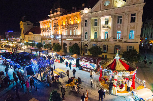 Novi Sad - European Best Christmas Markets - Novi Sad copyright Novi Sad Winter Fest
