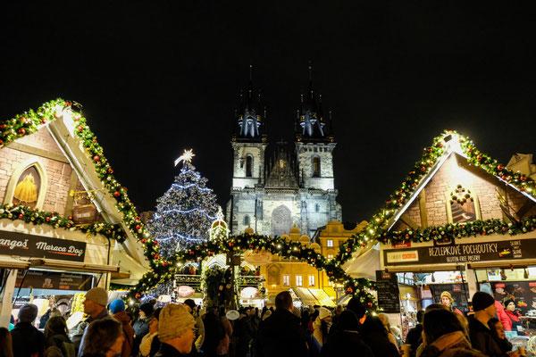Prague Christmas Market Copyright Taiko.cz