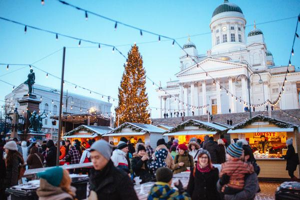 Helsinki Christmas Market - Copyright Visit Helsinki - Jussi Hellsten