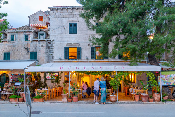 Cavtat restaurant copyright Shutterstock Editorial Frank Fell Media