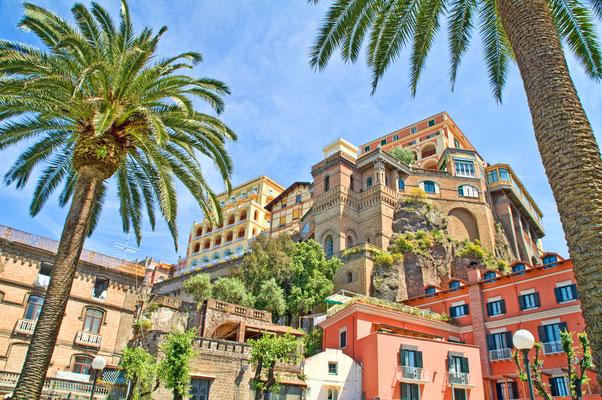 Historic hotels in Sorrento, Italy - Copyright J.Schelkle