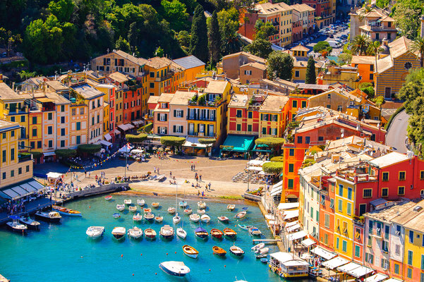 Portofino - European Best Destinations - Aerial View of Portofino Copyright Anton_Ivanov