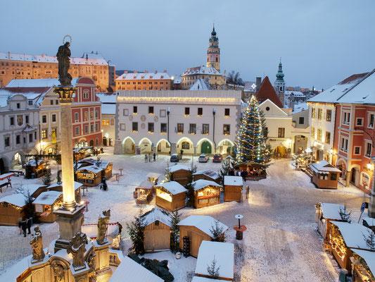 Best Christmas Markets in Europe - Cesky Krumlov Christmas Market - Copyright ©Town Český Krumlov  Foto Jan Schinko jr