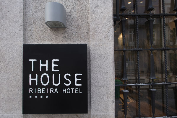 The hotel is located in the very heart of the historic centre of Porto © The House Ribeira Hotel