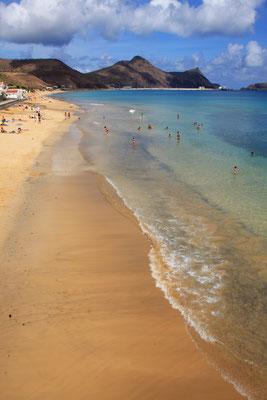 Porto Santo sandy beach - Madeira Island