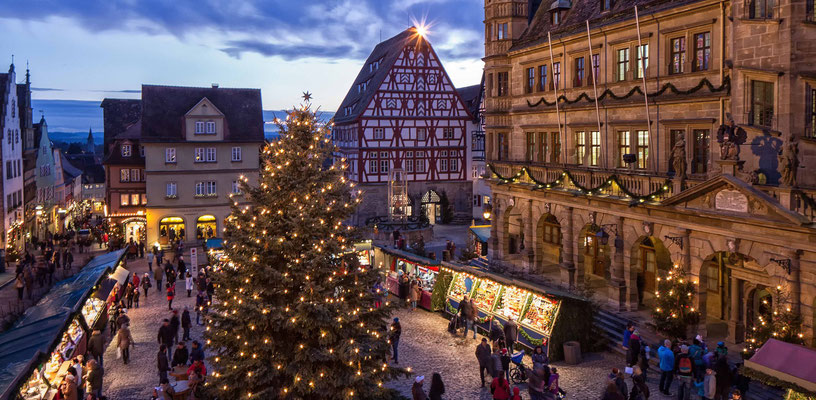 Rothenburg Christmas market - Copyright Rothenburg Tourismus Service