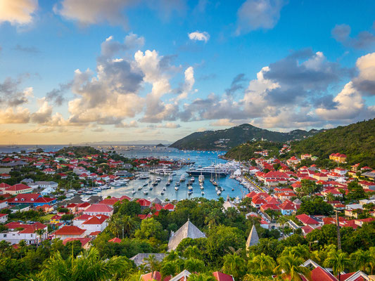 Saint Barthelemy - European Best Destinations - Saint Barthelemy Skyline and Harbor - Copyright Sean Pavone