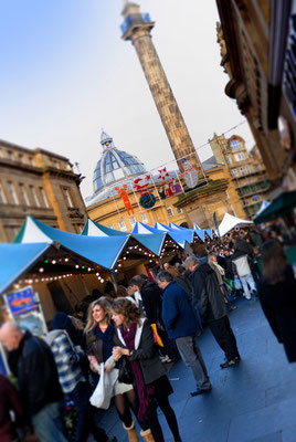 Best Christmas Markets in the United Kingdom - Newcastle Christmas Market - Copyright Visit Britain