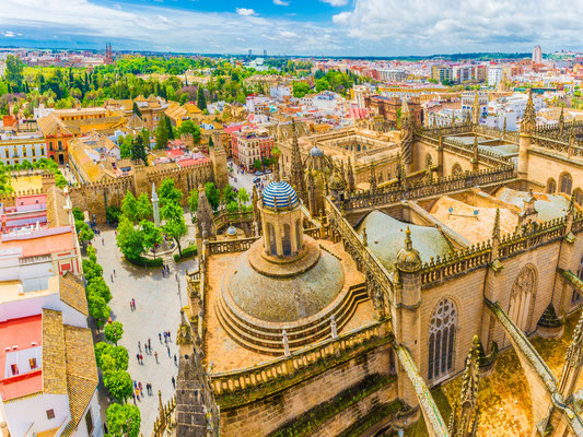 Seville - European Best Destinations - Giralda tower in Sevilla - Copyright Balate Dorin