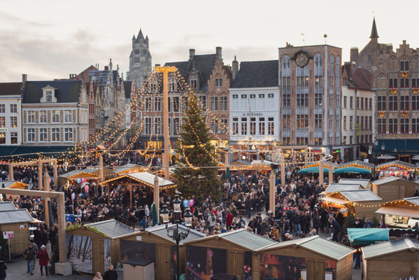 Bruges Christmas Market copyright Kite_rin - European Best Destinations