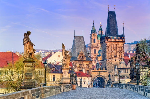 Charles Bridge in Prague by Boris Stroujko - Shutterstock