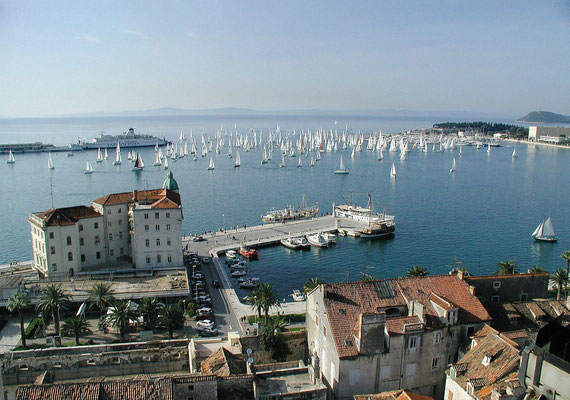Split European Best Destinations - Copyright Split Tourist Office