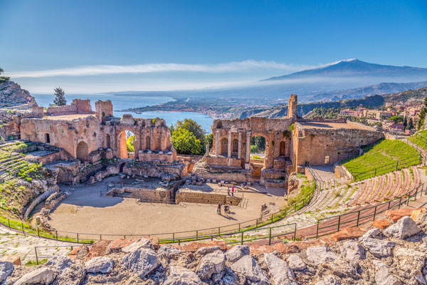 Sicily - European Best Destinations - Taormina in Sicily Copyright Roy Zerloch
