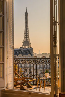 Paris Balcony copyright karen mandau
